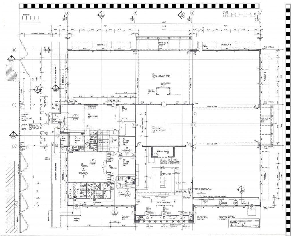 City Library Floor Plan 3